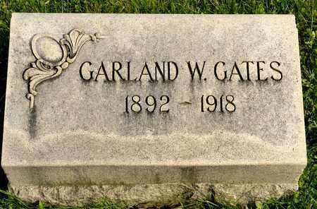 GATES, GARLAND W - Richland County, Ohio   GARLAND W GATES - Ohio Gravestone Photos