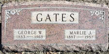GATES, GEORGE W - Richland County, Ohio   GEORGE W GATES - Ohio Gravestone Photos
