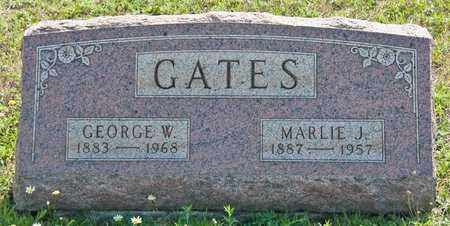 GATES, GEORGE W - Richland County, Ohio | GEORGE W GATES - Ohio Gravestone Photos