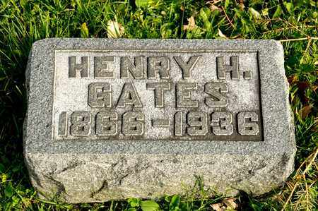 GATES, HENRY H - Richland County, Ohio | HENRY H GATES - Ohio Gravestone Photos