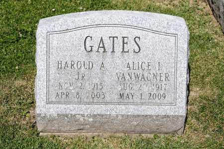 GATES, HAROLD A - Richland County, Ohio   HAROLD A GATES - Ohio Gravestone Photos
