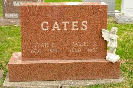 GATES, IVAH B - Richland County, Ohio | IVAH B GATES - Ohio Gravestone Photos