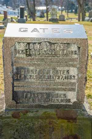 GATES, FRANCIS - Richland County, Ohio | FRANCIS GATES - Ohio Gravestone Photos
