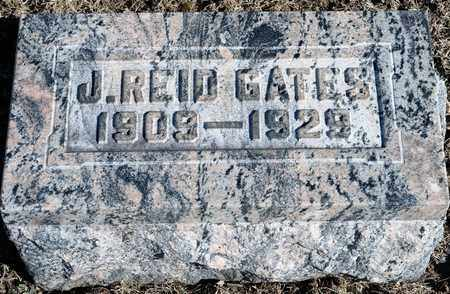 GATES, J REID - Richland County, Ohio | J REID GATES - Ohio Gravestone Photos