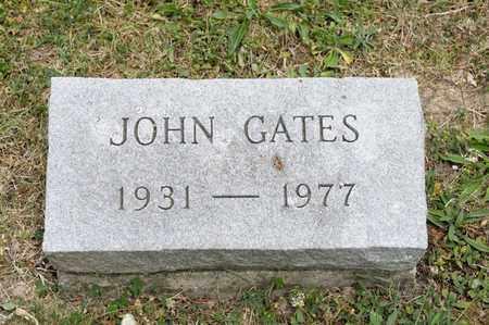 GATES, JOHN - Richland County, Ohio | JOHN GATES - Ohio Gravestone Photos