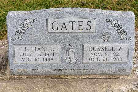 GATES, RUSSELL W - Richland County, Ohio | RUSSELL W GATES - Ohio Gravestone Photos