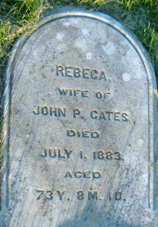 GATES, REBECCA - Richland County, Ohio | REBECCA GATES - Ohio Gravestone Photos