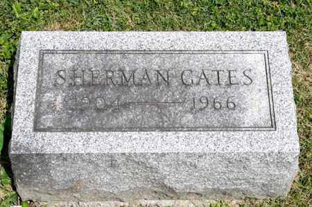 GATES, SHERMAN - Richland County, Ohio | SHERMAN GATES - Ohio Gravestone Photos