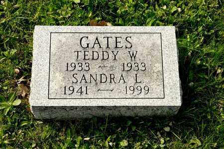GATES, TEDDY W - Richland County, Ohio | TEDDY W GATES - Ohio Gravestone Photos