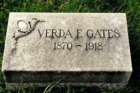 GATES, VERDA F - Richland County, Ohio   VERDA F GATES - Ohio Gravestone Photos