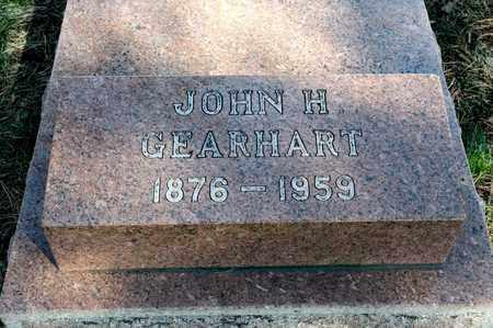 GEARHART, JOHN H - Richland County, Ohio | JOHN H GEARHART - Ohio Gravestone Photos