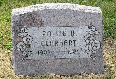 GEARHART, ROLLIE H - Richland County, Ohio | ROLLIE H GEARHART - Ohio Gravestone Photos