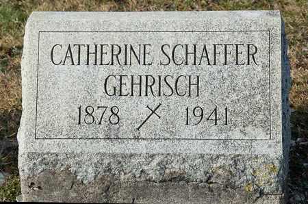 SCHAFFER GEHRISCH, CATHERINE - Richland County, Ohio | CATHERINE SCHAFFER GEHRISCH - Ohio Gravestone Photos