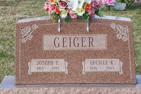 GEIGER, LUCILLE K - Richland County, Ohio | LUCILLE K GEIGER - Ohio Gravestone Photos