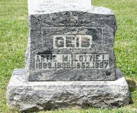 GEIS, ARTIE M - Richland County, Ohio | ARTIE M GEIS - Ohio Gravestone Photos