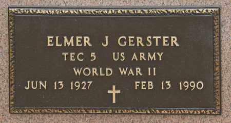 GERSTER, ELMER J - Richland County, Ohio   ELMER J GERSTER - Ohio Gravestone Photos