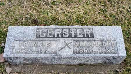 GERSTER, FRANCES - Richland County, Ohio | FRANCES GERSTER - Ohio Gravestone Photos
