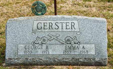 GERSTER, GEORGE B - Richland County, Ohio | GEORGE B GERSTER - Ohio Gravestone Photos