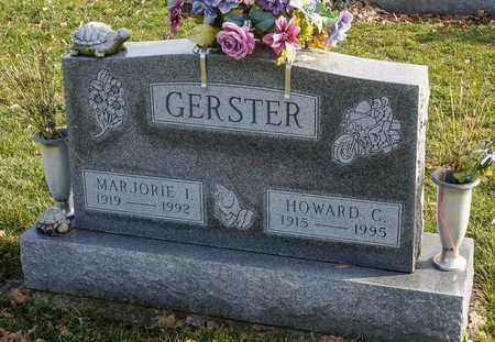 GERSTER, HOWARD C - Richland County, Ohio | HOWARD C GERSTER - Ohio Gravestone Photos