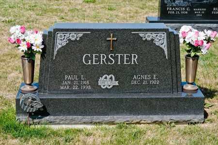 GERSTER, PAUL L - Richland County, Ohio | PAUL L GERSTER - Ohio Gravestone Photos