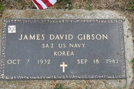 GIBSON, JAMES DAVID - Richland County, Ohio | JAMES DAVID GIBSON - Ohio Gravestone Photos
