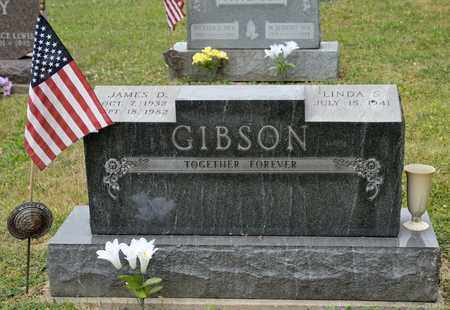 GIBSON, JAMES D - Richland County, Ohio | JAMES D GIBSON - Ohio Gravestone Photos