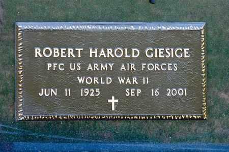 GIESIGE, ROBERT HAROLD - Richland County, Ohio | ROBERT HAROLD GIESIGE - Ohio Gravestone Photos