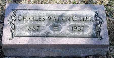 GILLER, CHARLES WATKIN - Richland County, Ohio   CHARLES WATKIN GILLER - Ohio Gravestone Photos