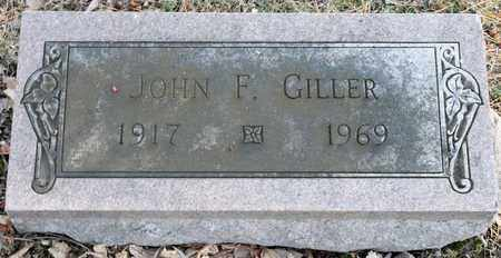 GILLER, JOHN F - Richland County, Ohio   JOHN F GILLER - Ohio Gravestone Photos