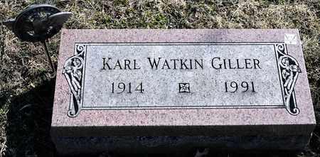 GILLER, KARL WATKIN - Richland County, Ohio | KARL WATKIN GILLER - Ohio Gravestone Photos