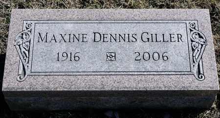 GILLER, MAXINE - Richland County, Ohio | MAXINE GILLER - Ohio Gravestone Photos