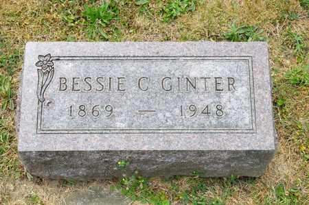GINTER, BESSIE C - Richland County, Ohio | BESSIE C GINTER - Ohio Gravestone Photos