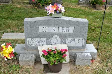 GINTER, CARL E - Richland County, Ohio   CARL E GINTER - Ohio Gravestone Photos