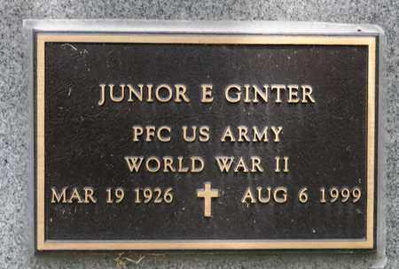 GINTER, JUNIOR E - Richland County, Ohio | JUNIOR E GINTER - Ohio Gravestone Photos