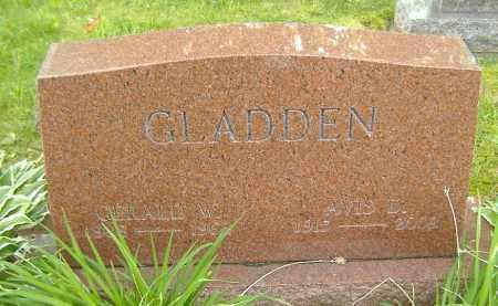 GLADDEN, AVIS ARTIE - Richland County, Ohio | AVIS ARTIE GLADDEN - Ohio Gravestone Photos