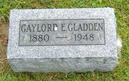 GLADDEN, GAYLORD EUGENE - Richland County, Ohio   GAYLORD EUGENE GLADDEN - Ohio Gravestone Photos