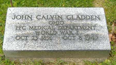 GLADDEN, JOHN CALVIN - Richland County, Ohio | JOHN CALVIN GLADDEN - Ohio Gravestone Photos