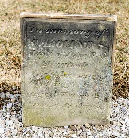 GLOSSBRENNER, CAROLINE S - Richland County, Ohio | CAROLINE S GLOSSBRENNER - Ohio Gravestone Photos