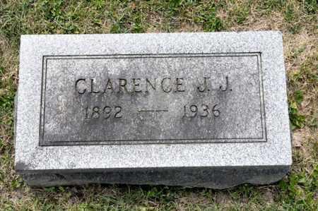 GLOWER, CLARENCE J J - Richland County, Ohio | CLARENCE J J GLOWER - Ohio Gravestone Photos