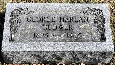 GLOWER, GEORGE HARLAN - Richland County, Ohio | GEORGE HARLAN GLOWER - Ohio Gravestone Photos