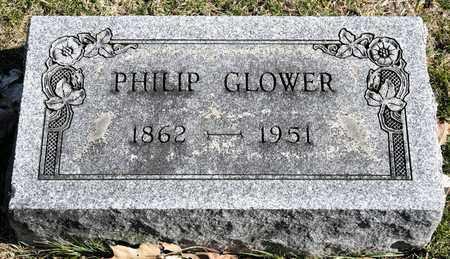 GLOWER, PHILIP - Richland County, Ohio | PHILIP GLOWER - Ohio Gravestone Photos