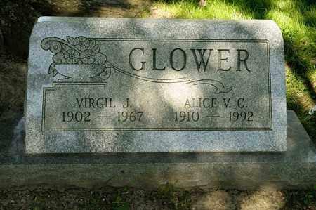 GLOWER, VIRGIL J - Richland County, Ohio | VIRGIL J GLOWER - Ohio Gravestone Photos
