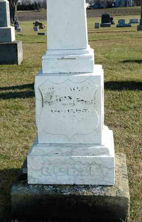 GOBLE, CHRISTIAN - Richland County, Ohio | CHRISTIAN GOBLE - Ohio Gravestone Photos