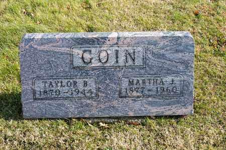 GOIN, TAYLOR B - Richland County, Ohio | TAYLOR B GOIN - Ohio Gravestone Photos