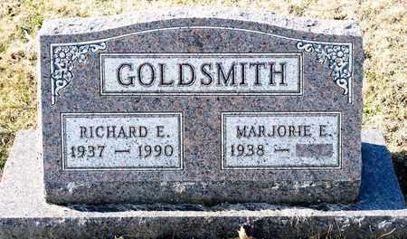 GOLDSMITH, RICHARD E - Richland County, Ohio   RICHARD E GOLDSMITH - Ohio Gravestone Photos