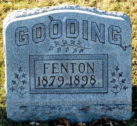GOODING, FENTON - Richland County, Ohio   FENTON GOODING - Ohio Gravestone Photos