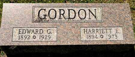 GORDON, HARRIETTE E - Richland County, Ohio | HARRIETTE E GORDON - Ohio Gravestone Photos
