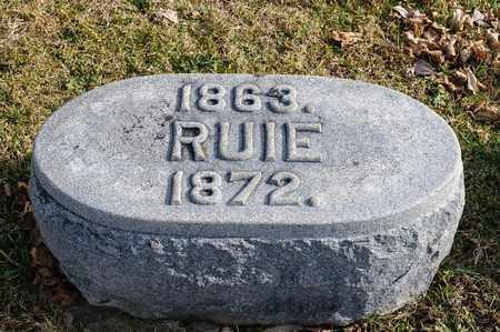 GORTNER, RUIE - Richland County, Ohio | RUIE GORTNER - Ohio Gravestone Photos