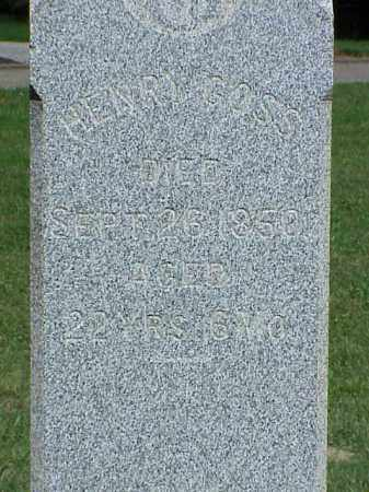 GOSS, HENRY - Richland County, Ohio | HENRY GOSS - Ohio Gravestone Photos