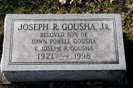 GOUSHA JR, JOSEPH - Richland County, Ohio   JOSEPH GOUSHA JR - Ohio Gravestone Photos